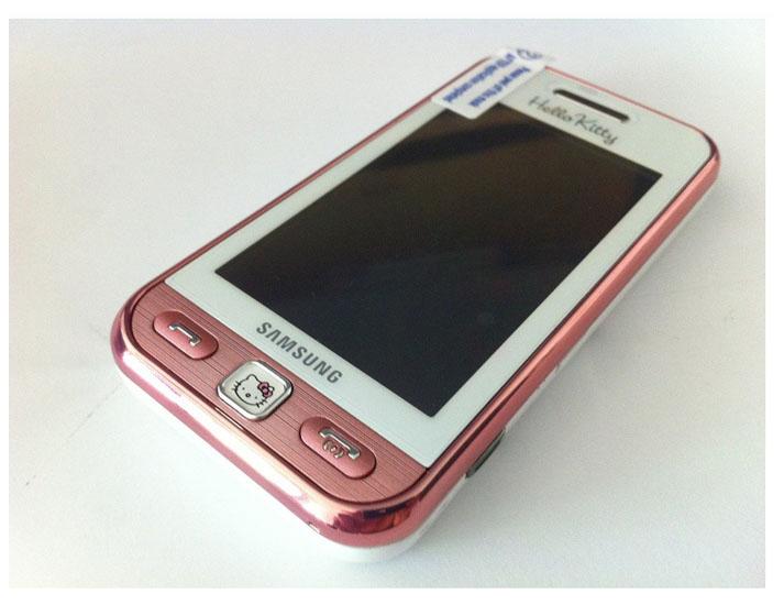 Original samsung s5230 star 315mp hello kitty unlocked mobile phone free shipping