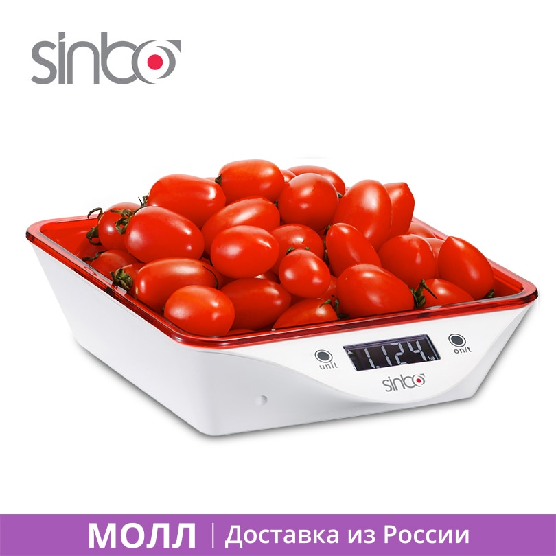 Sinbo SKS 4520 Electric Kitchen Scale Max Weight  to 5kg Automatic shutdown Digital balance for food