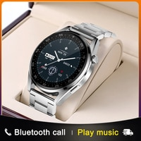 2021 화웨이 시계 3 프로 블루투스 통화에 대한 새로운 스마트 워치 ios 안드로이드에 대한 음악 심장 박동 모니터 보수계를 듣고