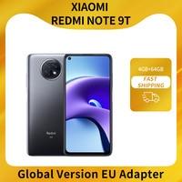 Xiaomi Redmi Note 9T 5G Global Version 4GB 128GB Smartphone MTK Dimensity 800U 48MP Triple Camera Display 5000mAh NFC