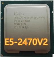 Intel Xeon E5-2470v2 E5 2470v2 E5 2470 v2 2,4 GHz Zehn-Core Zwanzig-Gewinde CPU Prozessor 25M 95W LGA 1356 E5-2470V2
