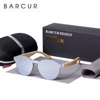 BARCUR Cat Eye Sonnenbrille Bambus Männer Neue Marke Gläser Sonne Gläser Für Frauen Googles Rot Sonnenbrille Angeln Brillen