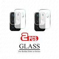 2pcs Gehärtetem Glas Für Xiaomi Redmi Hinweis 10 Pro kamera objektiv Screen Protector Glas Für Redmi Hinweis 10 Pro max 10s note10 Film