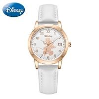 Wielka wyprzedaż kobiet pasek zegarka pani zegarki kwarcowe dziewczyny piękne Minnie Mickey Mouse zegary studenckie godziny kobieta moda na czasie