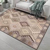 Hot Sale Modern 3D Floor Rug For Living Room Non-slip Antifouling Carpet For Bedroom Parlor Factory
