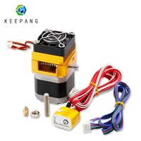 MK8 Extruder Kit J-kopf Hotend 3d Drucker extruder 0,4mm Düse 1,75mm Filament Extrusion mit Motor Kehle aluminium Teil