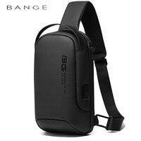 BANGE 2020 New Multifunction Crossbody Bag Shoulder Messenger Bags Male Waterproof Short Trip Chest Bag Pack for Men