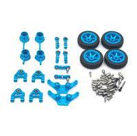Wltoys metal conjunto completo atualizar para 1/28 p929 p939 k979 k989 k999 k969 rc peças de carro