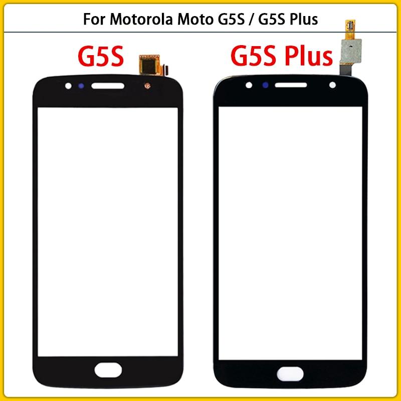 Panel de pantalla táctil para móvil, digitalizador con Sensor G5S Plus, pantalla táctil, lente de cristal frontal de repuesto, para Motorola Moto G5S XT1791 XT1792