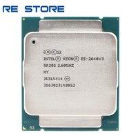 Verwendet Intel Xeon E5 2640 V3 Prozessor SR205 2,6 Ghz 8 Core 90W Sockel LGA 2011-3 CPU e5 2640V3