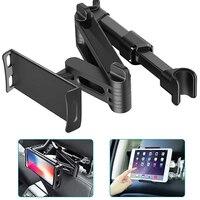 IPad מכונית כרית טלפון נייד מחזיק Tablet לעמוד מושב אחורי משענת ראש הר סוגר 5-11 אינץ גמיש 360 תואר מסתובב