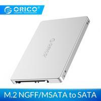 ORICO M2TS Aluminium Legierung M.2 NGFF zu SATA Konverter M.2 SSD Solid State Drive Fall Gehäuse Adapter für Desktop PC
