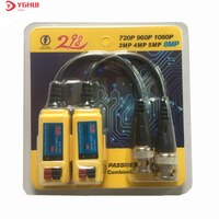 10 Pairs 8MP Passive Video Balun HD-CVI/TVI/AHD Balun Übertragung Für CCTV Sicherheit Kamera System