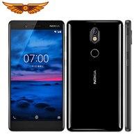 Original Nokia 7 Octa-core 5,2 Zoll 4GB RAM 64GB ROM 16MP Kamera LTE IPS LCD Dual SIM Android Smartphone Entsperrt Handy