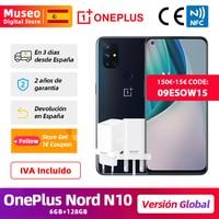 Globale Version OnePlus Nord N10 5G Handy 6GB 128GB Snapdargon 5G 6.49 ''90Hz FHD + Display Warp Ladung 30T NFC;