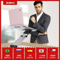 XIDU מעמד מחשב נייד מתכוונן שולחן אלומיניום Tiktok גאדג 'ט נייד Stand עבור Macbook אוויר iPad תמיכה מתקפל החלקה סוגר