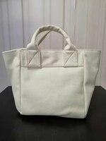 108300 Luxury Designer Brand Fashion White Women's Bag Hand-held Cross Over Large Capacity Versatile Tote Bag Single-shoulder A3