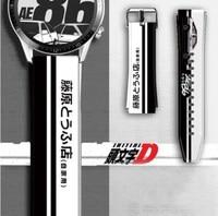 이니셜 D AE86 후지와라 두부 가게 팔찌 스마트워치 밴드 22mm 20mm, 실리콘 스트랩 화웨이 GT 2 2E 매직 워치 2 42mm 46mm