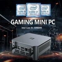 10TH Gen Intel Core i9-10980HK i9-10880H Gaming Computer Mini PC 2 Lans Windows 10 2 * DDR4 2 * NVMe DP HDMI Typ-C 3x4K AC WIFI + BT
