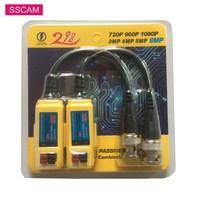 10 Pairs 8MP Analog AHD CCTV Kamera Video Balun Passive Transceiver HD AHD/CVI/TVI Verdreht Video Balun konverter für HD Kameras