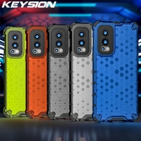 Keysion Shockproof Armor Case Voor Oneplus Nord 2 5G 2in1 Siliconen + Pc Honingraat Telefoon Back Cover Voor Oneplus 9 9 Pro 9R 7T