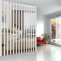 간단한 라인 아크릴 3D 벽 스티커 DIY 배경 거울 스트립, 천장 허리 라인 거실 식당 아트 홈 장식, 20 개