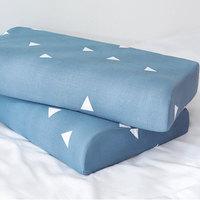 Print Pillowcase Latex Cushion Cover Super Soft Cotton Bedroom Supplies Memory Foam Cozy Durable Fashion Pillow Slip
