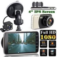 C Modell 4 Zoll TFT IPS 170 Grad Full HD Weitwinkel Objektiv 1080P Nachtsicht Auto Fahren Recorder auto DVR Fahren Recorder