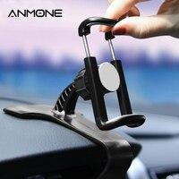 ANMONE רכב לוח מחוונים טלפון מחזיק 360 סיבוב מתכוונן HUD האוניברסלי רכב פנל GPS ניווט Stand GPS נייד קליפ סוגר