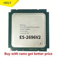 Verwendet Intel Xeon E5 2696 V2 2,5 GHz 12-Core 24-Gewinde CPU Prozessor 30M 115W LGA 2011 E5 2696v2