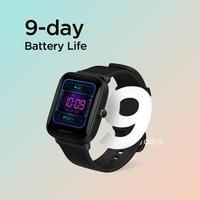새로운 Amazfit Bip U Smartwatch 컬러 디스플레이 GLONASS 수면 모니터링 5ATM 방수 스마트 워치 안드로이드 iOS 전화