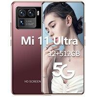 Globale Version Mi 11 Ultra 6,7 Zoll Smartphone 6800mAh 12G + 512G Andriod telefon 16 + 32 MEGAPIXEL Gesicht ID Unterstützung Google 4G Handy