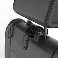 גמיש 360 תואר סיבוב עבור iPad מכונית כרית טלפון נייד מחזיק Tablet לעמוד מושב אחורי משענת ראש הר סוגר 5-11 אינץ