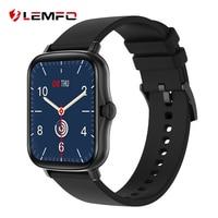 LEMFO Y20 P8 플러스 2021 스마트 워치 남자 1 포인트 7 인치 전체 터치 IP67 방수 시계 피트니스 트래커 Smartwatch GTS 2
