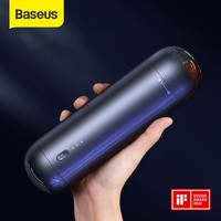 Baseus-미니 휴대용 자동차 진공 청소기, 차량용 진공 정소기, 4000Pa, 무선 핸드헬드, 데스크톱과 가정, 자동차용, 인테리어 청소기