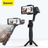 Baseus 3-Axis Handheld Gimbal Wireless Bluetooth Phone Gimbal Stabilizer for iPhone Tripod Gimbal Smartphone Stabilizer Gimbal