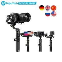 FeiyuTech Feiyu G6 Plus 3-Axis Handle Splash proof Gimbal Stabilizer for Mirrorless Pocket Sony Camera GoPro Hero 8 7 6