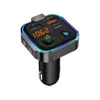 Multifunktions Radio FM Sender Bequem Bluetooth Kompatibel Usb-schnittstelle Lade 36 W Smart-Noise Reduktion Auto Adapter
