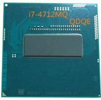 Original Intel Core Prozessor I7-4712QM QS Version QDQE Prozessor I7 4712QM 3,3 GHz Quad Core