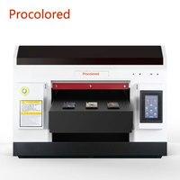Procolor-전문가용 UV 프린터 A3 Led 잉크젯 프린트 기계, 전화 케이스 실린더 나무 아크릴 알루미늄 금속 2021 신제품