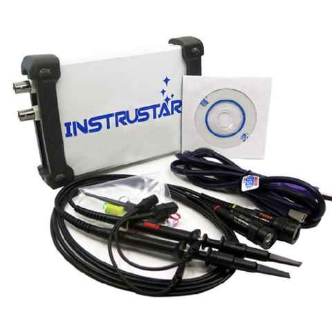 3 in 1 Multifunctional USB Virtual Digital Oscilloscope PC Based Bandwidth 20M 2 Channels ...