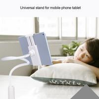 Universal 360 Rotating Lazy Mobile Phone Holder Flexible Long Arm Lazy Phone Holder Clamp Bed Tablet Car Selfie Mount Bracket