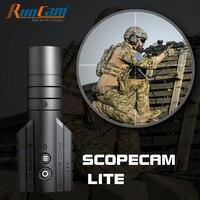RunCam Umfang Cam Lite 1080P HD Gebaut-in WiFi APP Scopecam 2 Military Airsoft Tactical Paintbal Jagd Action zoom Kamera