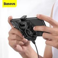 Baseus נייד טלפון למעבד אוניברסלי משחקים Smartphone קירור מאוורר רדיאטור עבור Xiaomi שחור כריש Poco X3 פרו סמסונג
