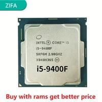 Verwendet Intel Core i5 9400F 2,9 GHz Sechs-Core Sechs-Gewinde 65W 9M SRF6M/SRG0Z prozessor LGA 1151 verstreuten teile cpu