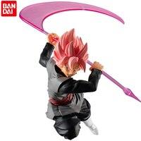 Bandai Shokugan Dragon Ball Super Zamasu Styling Super Saiyan Rose Black Goku 6Cm PVC Action Model Anime Figure Collection Toys