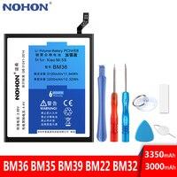Original NOHON Batterie BM22 BM36 BM39 Für Xiaomi Mi 5 5S 6 Handy Ersatz Bateria Hohe Kapazität Bateria