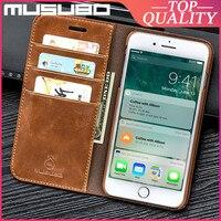 Musubo本革ケースiphone se 2020 8プラス7プラス6 6s xr xs最大高級カバー12プロマックス11カードスロット財布fundas