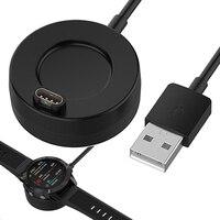 Garmin Fenix 5/5s/5X Plus 6/6S/6X Venu Vivoactive 4/3 945 245 45 Quatix 5 사파이어용 1m USB 충전 케이블 코드 도크 충전기
