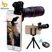 Universal Telefon Kamera Objektiv Kit Clip-auf 18X Teleobjektiv, Stativ, fernauslöser für iPhone Samsung Meisten Smartphone